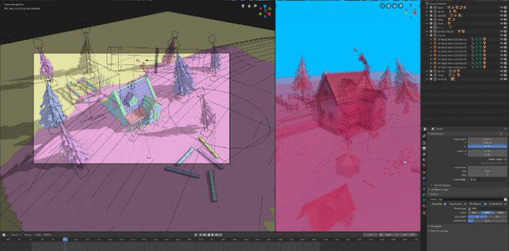 Blender 2.80 – przegląd nowościcz.2: interfejs, kolekcje, widok 3d