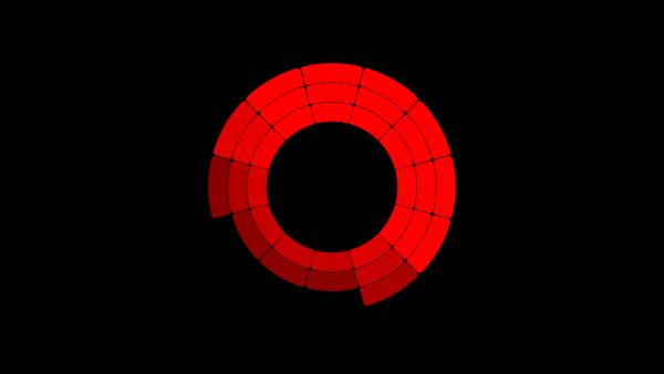 Kanał czerwony używany przez ekrany