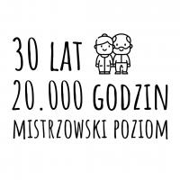 Screen z animacji w stylu typography animation.