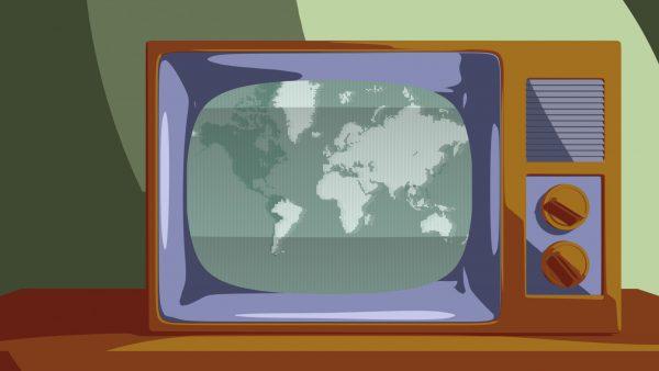 Stary telewizor.