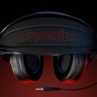 Realistyczny moderl 3D słuchawek, widok z góry